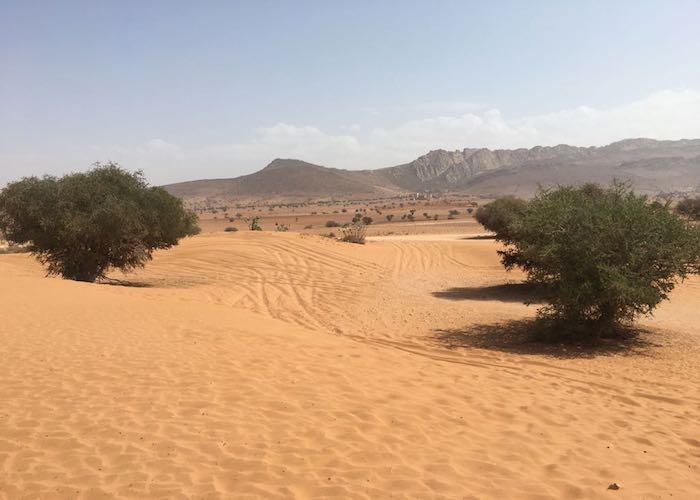 Small desert & Tiznit